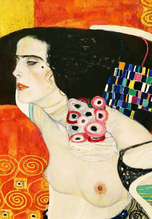 Judith II (fragment). Gustav Klimt