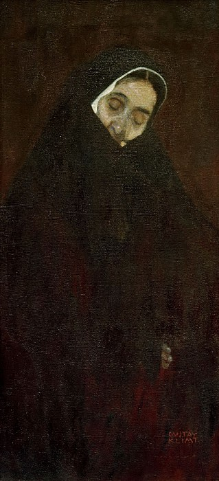 Old Woman. Gustav Klimt