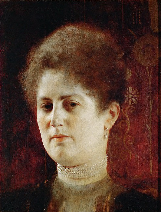 Portrait of a Lady. Gustav Klimt
