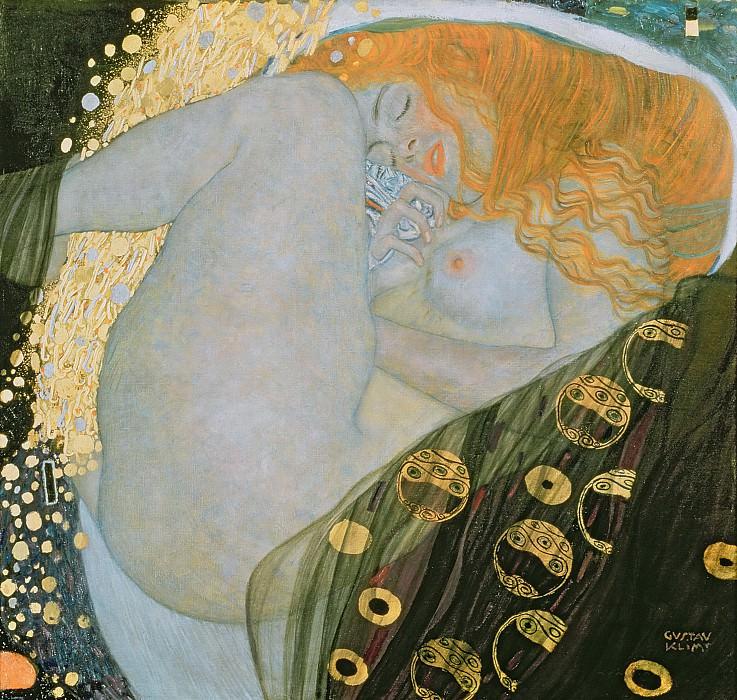 Danae. Gustav Klimt