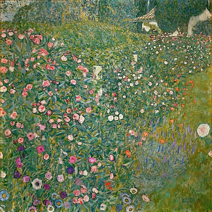 Italian Garden Landscape. Gustav Klimt