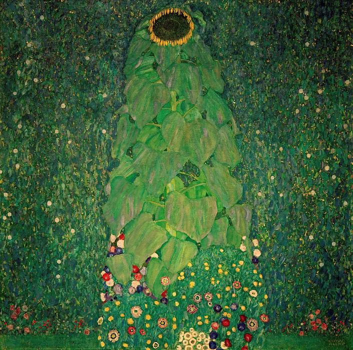Sunflower. Gustav Klimt