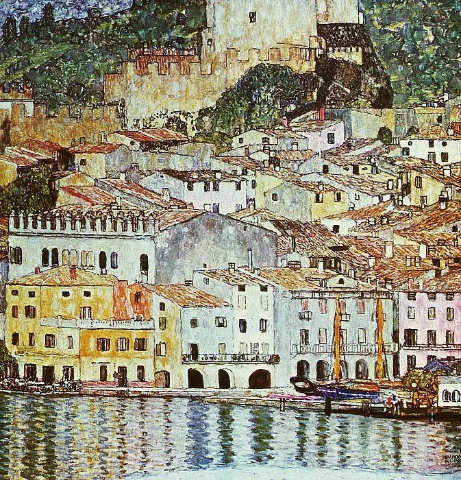 Malcesine on Lake Garda. Gustav Klimt