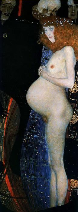 Hope I. Gustav Klimt