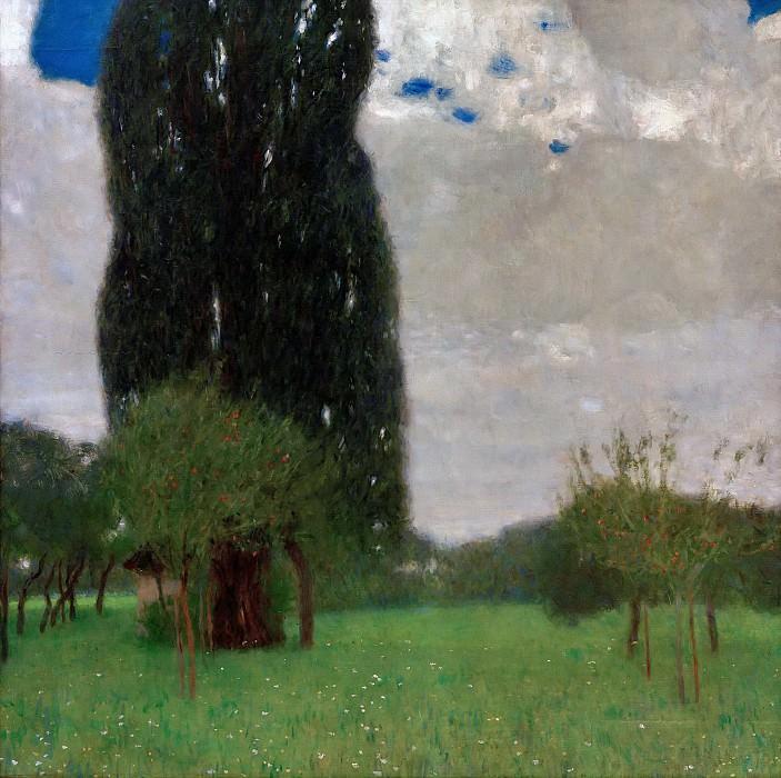 The Great Poplar I. Gustav Klimt