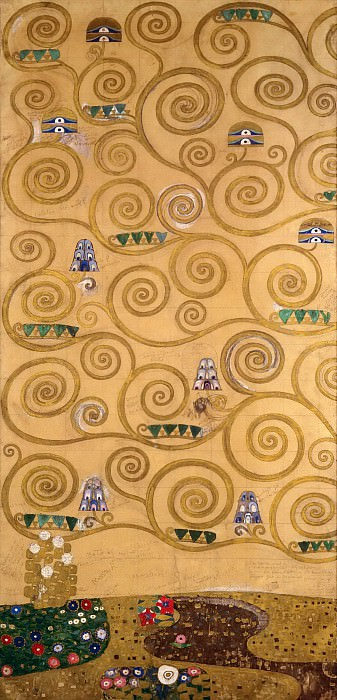 Панно для столовой дворца Стокле. Густав Климт