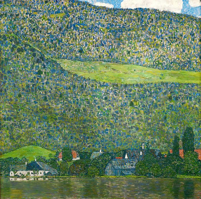 Litzlberg am Attersee. Gustav Klimt