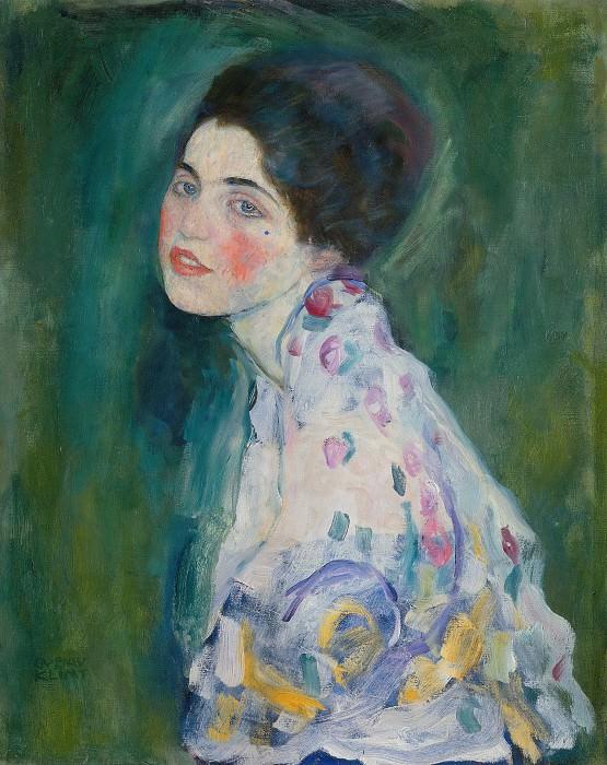 Портрет молодой женщины. Густав Климт