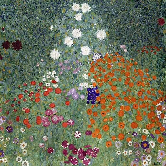 Flower Garden. Gustav Klimt