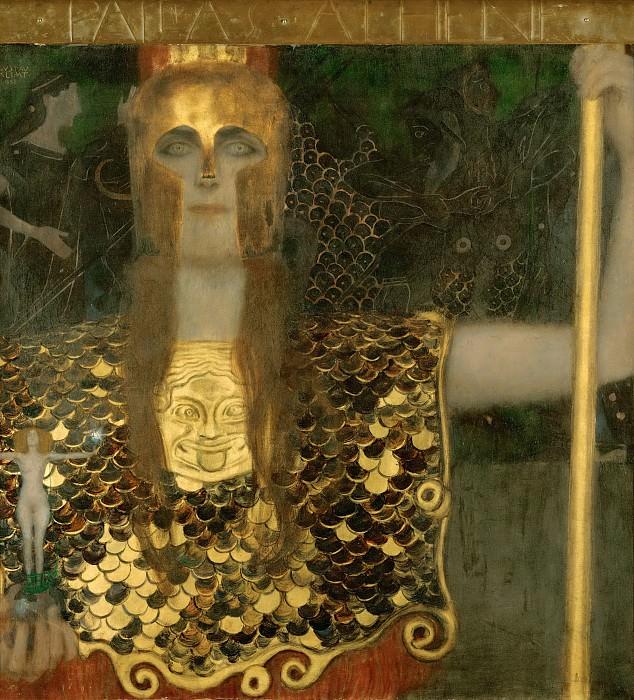 Pallas Athene. Gustav Klimt