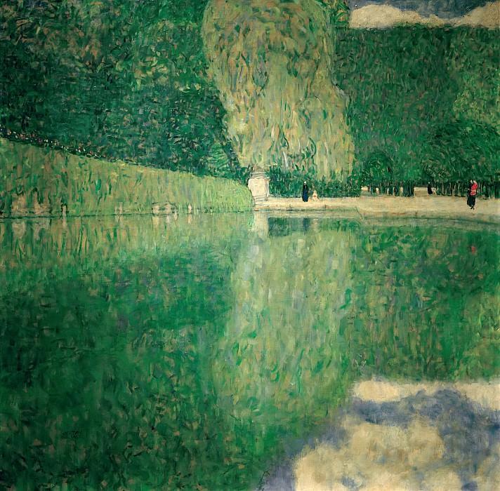Park Schönbrunn. Gustav Klimt