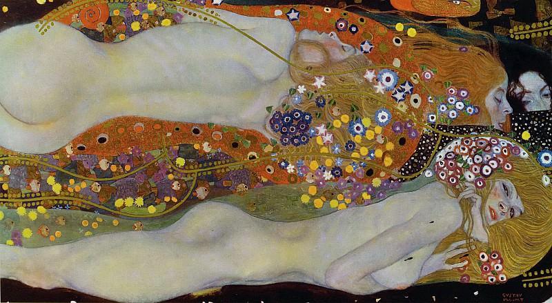 Water Serpents II. Gustav Klimt