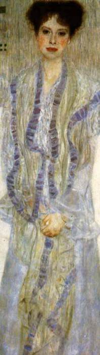 Bildnis Gertha Felssvanyi. Gustav Klimt