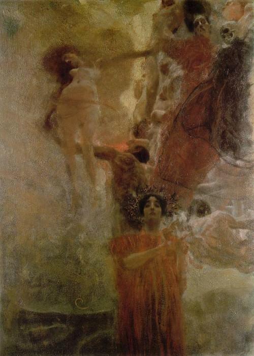 Medicine. Gustav Klimt