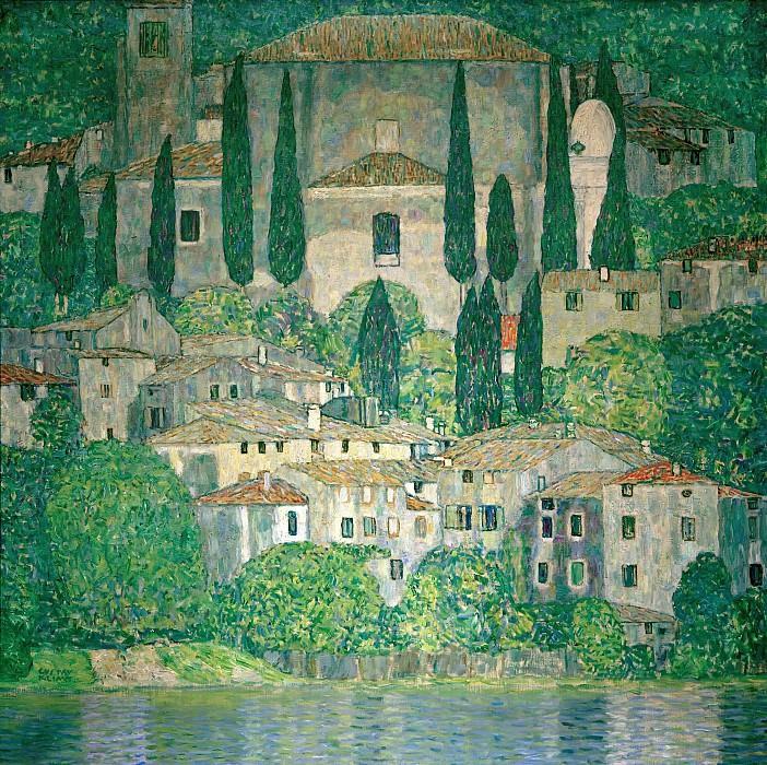Church in Cassone. Gustav Klimt
