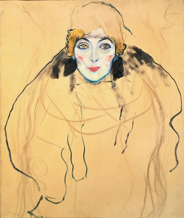 Portrait of a Woman. Gustav Klimt