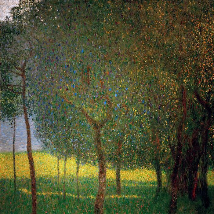 Fruit trees. Gustav Klimt