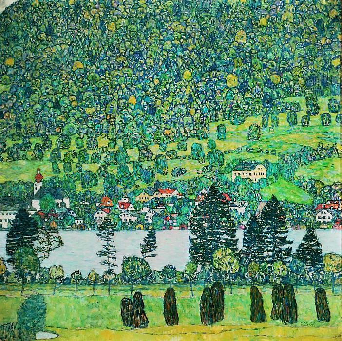 Лес на склоне у озера Аттерзе. Густав Климт
