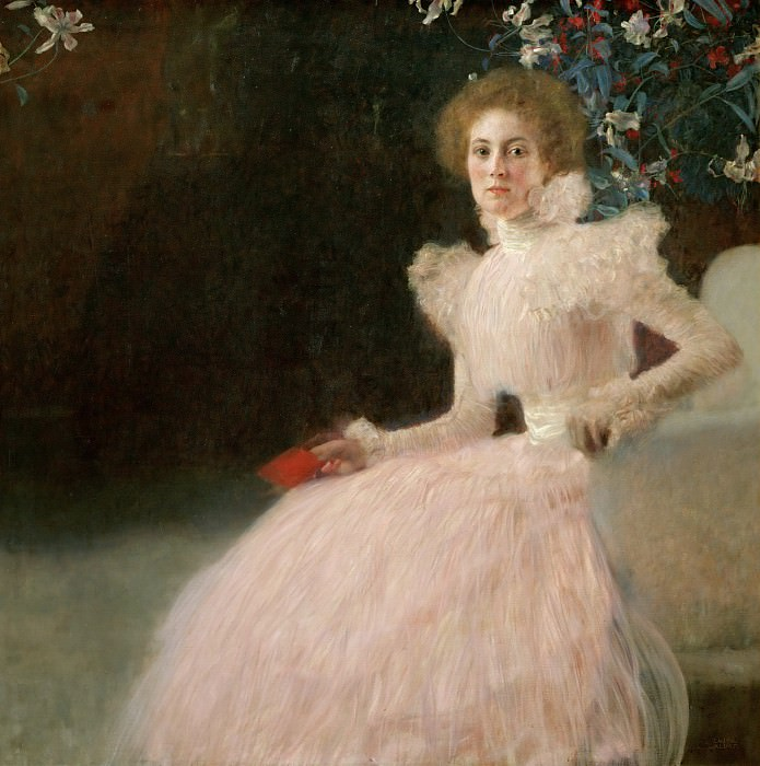 Portrait of Sonja Knips. Gustav Klimt