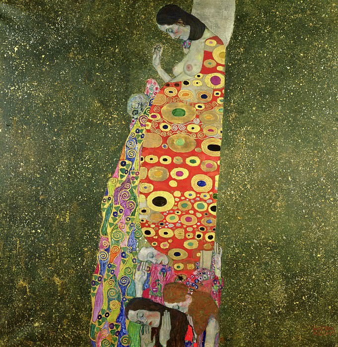 Hope II. Gustav Klimt