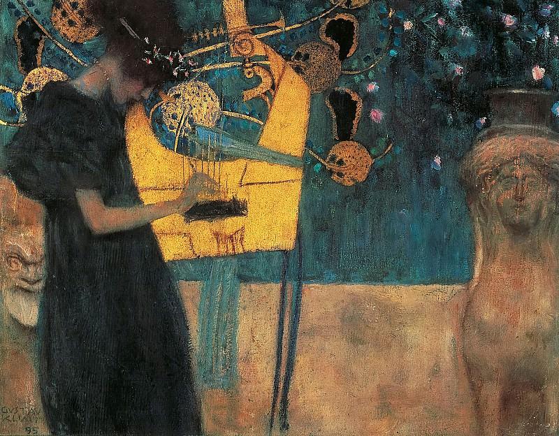 Аллегория музыки. Густав Климт