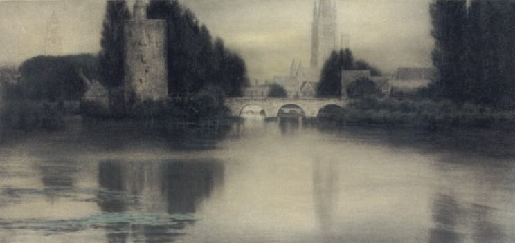 Озеро любви, Брюгге. Фернан Кнопф