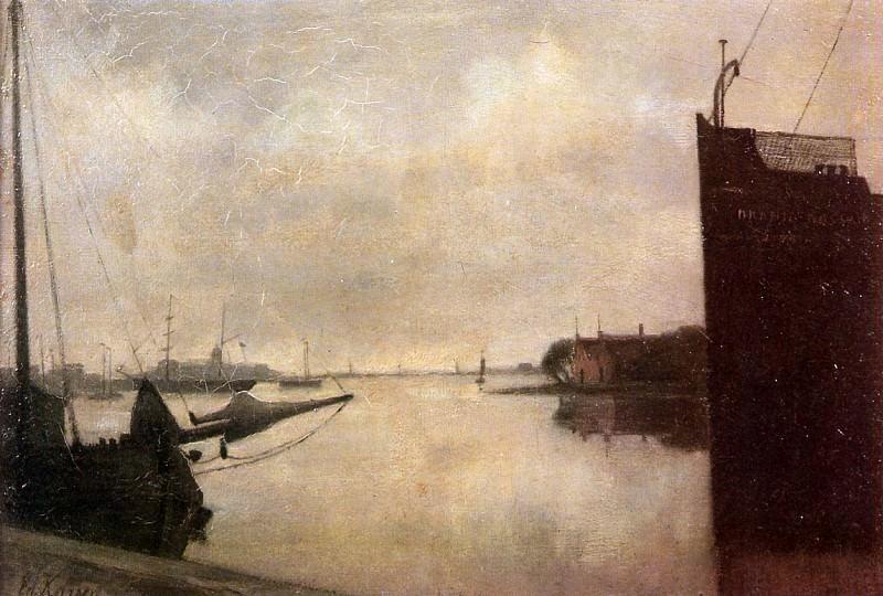 Karsen Eduard IJ Amsterdam Sun. Eduard Karsen