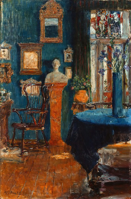 The Blue Room. Gotthard Kuehl