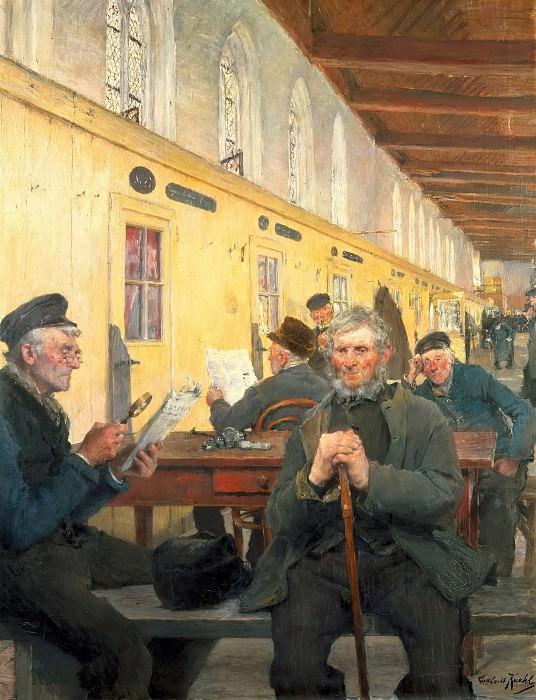 Дом престарелых в Любеке. Готхард Кюль