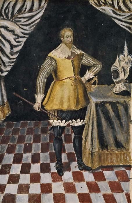 Gustav II Adolf (1594-1632), King of Sweden. Kristina Drottning (Attributed)