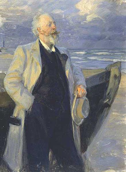 Хольгер Драхман, 1895. Педер Северин Крёйер