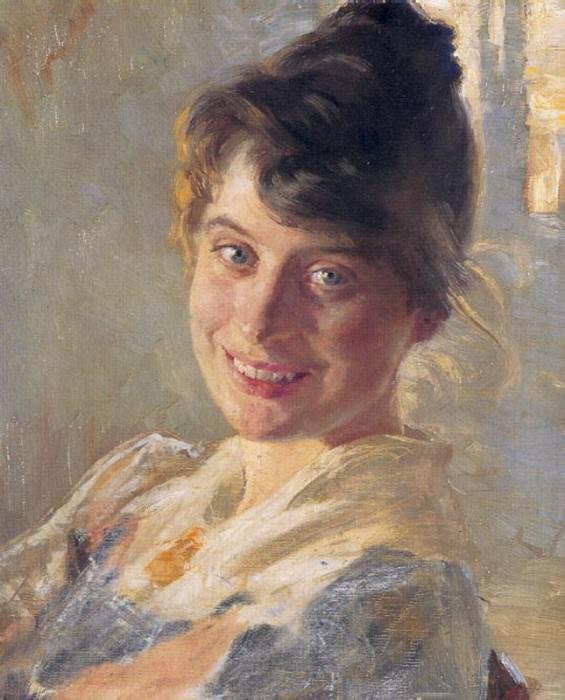 Мария Крёйер, 1890. Педер Северин Крёйер