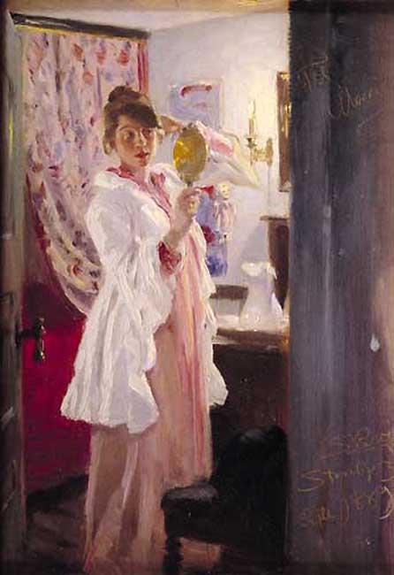 Мария с зеркалом, 1889. Педер Северин Крёйер