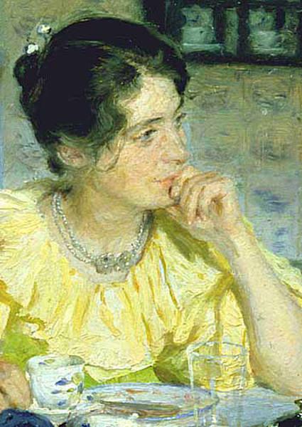 Мария Крёйер, 1893. Педер Северин Крёйер