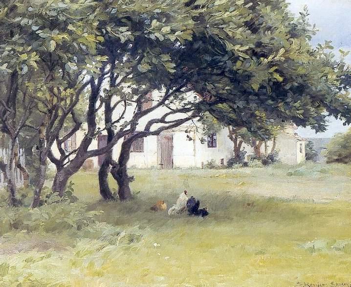 Дом художника в Испании, 1893. Педер Северин Крёйер