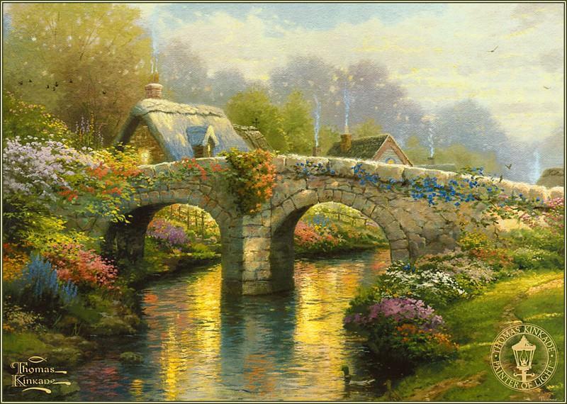 BlossomBridge. Thomas Kinkade