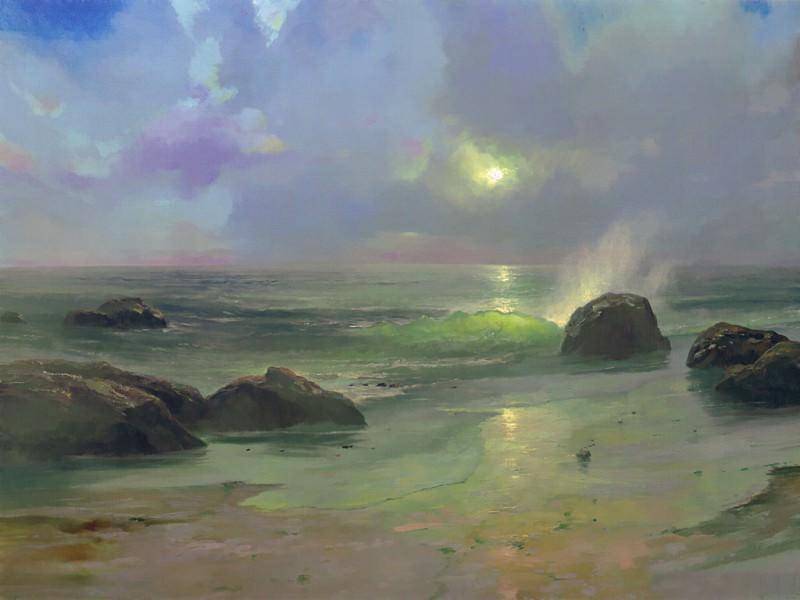 Pacific Nocturne. Thomas Kinkade