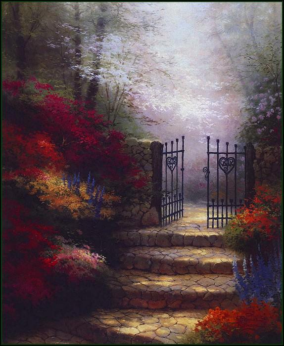 GardenofPromise. Thomas Kinkade