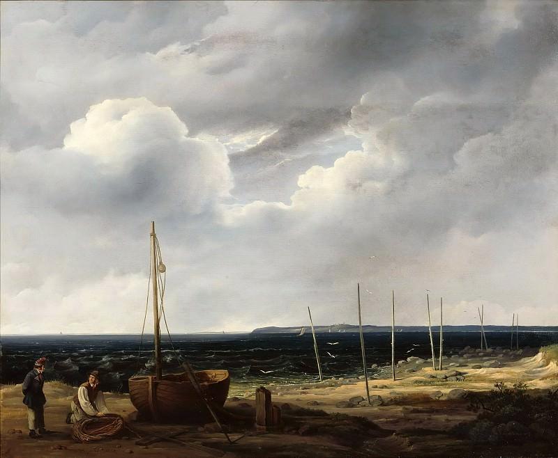 Pomeranian coast. Wilhelm Krause