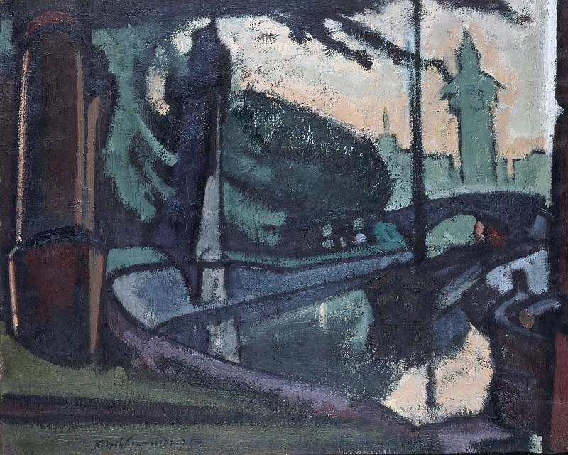 Gruner Canal. Anton Kerschbaumer