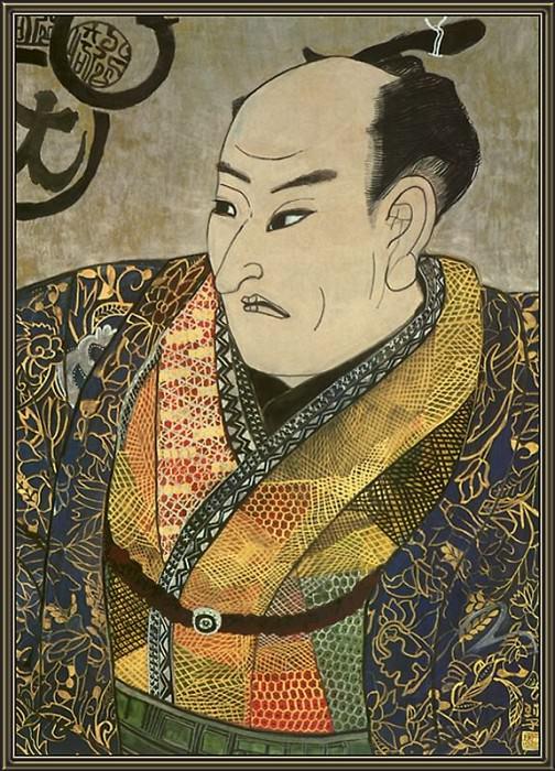 Artist Utagawa Kunisada. Tamako Kataoka