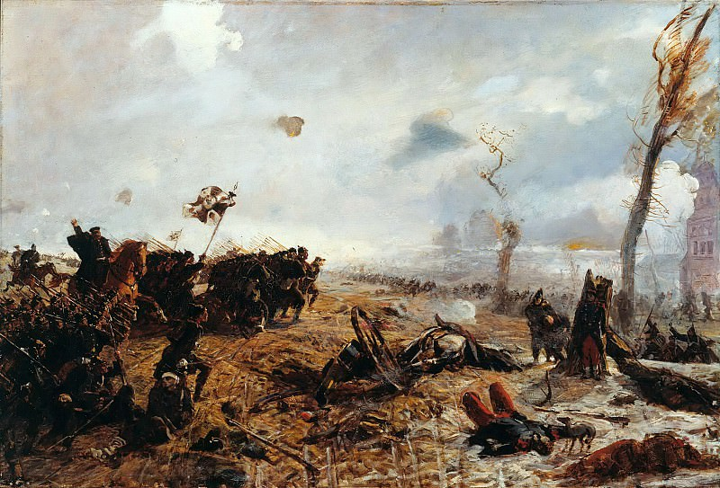 Battle for Metz. Louis Kolitz