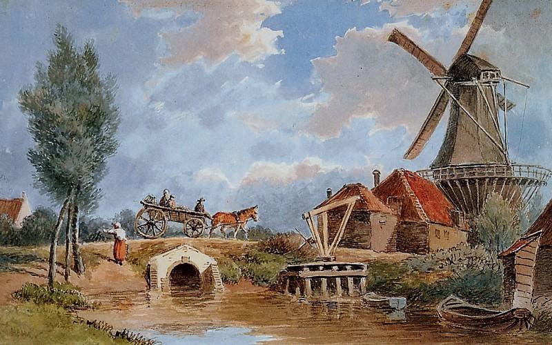 Lebret Frans Mill de oude Ruiter Sun. Frans Lebret