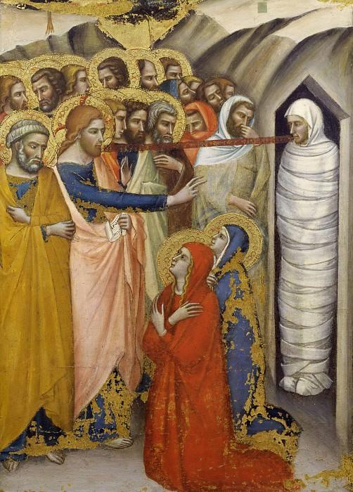 Raising of Lazarus. Luca di Tomme