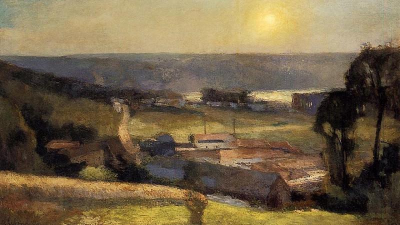 Landscape. Albert-Charles Lebourg