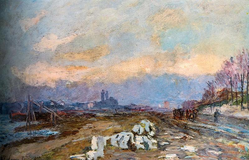 La Seine a Paris 1897. Albert-Charles Lebourg