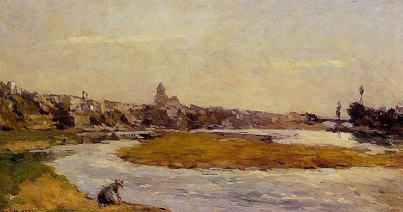 LAllier a Pont du Chateau. Albert-Charles Lebourg