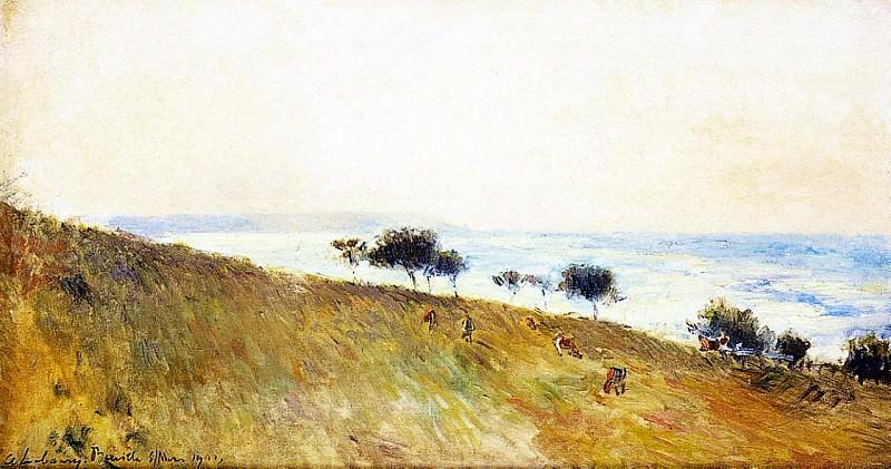 View of Berville sur Mer 1903. Albert-Charles Lebourg