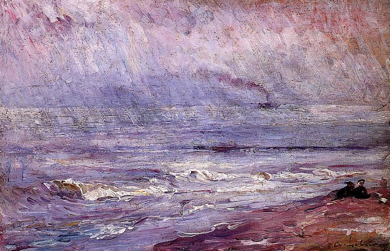 Seascape. Albert-Charles Lebourg