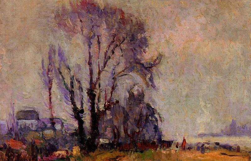Landscape 02. Albert-Charles Lebourg